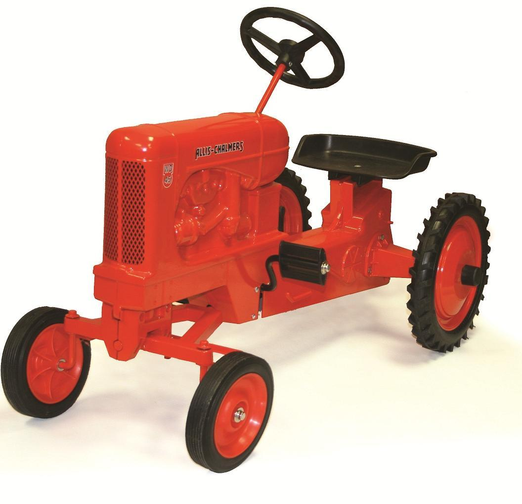 Allis Chalmers Pedal Tractor Decals : Allis chalmers wd narrow front diecast pedal tractor