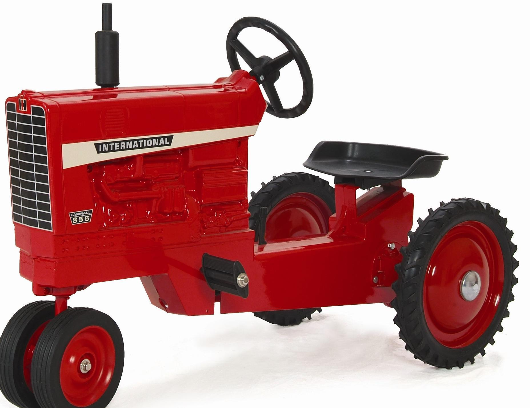 Ih 856 Tractor : International narrow front diecast pedal tractor by