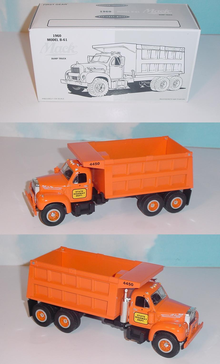 Truck Products 1961 Ford Dump Fg State Hwighway